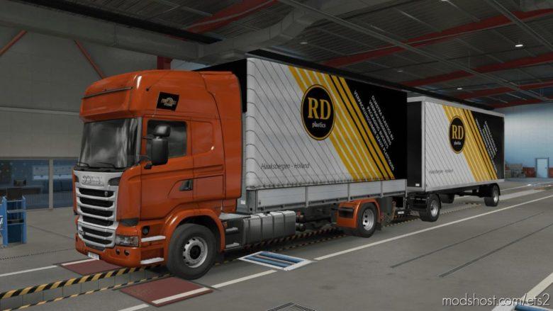 Dijkstra Plastics Devil BDF Tandem for Euro Truck Simulator 2