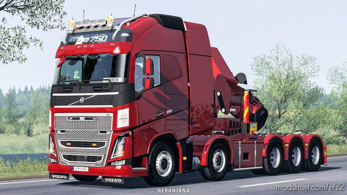 Volvo FH16 2012 Mega Mod By Rpie V1.39.1.5S for Euro Truck Simulator 2