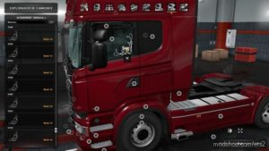 LOW Deck Improved Chassis For Rjl'S Scania R&S, R4, P4, P&G V1.5 for Euro Truck Simulator 2