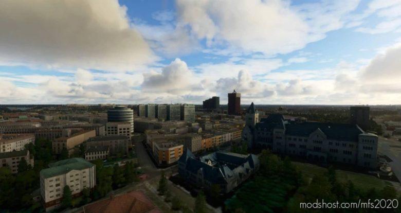 Poznań City V1.1 for Microsoft Flight Simulator 2020