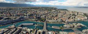 Geneva Switzerland for Microsoft Flight Simulator 2020