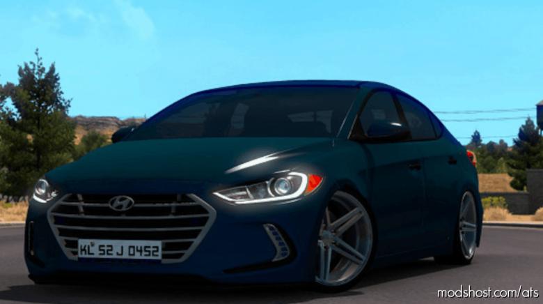 Hyundai Elantra 2017 V3 [1.39] for American Truck Simulator