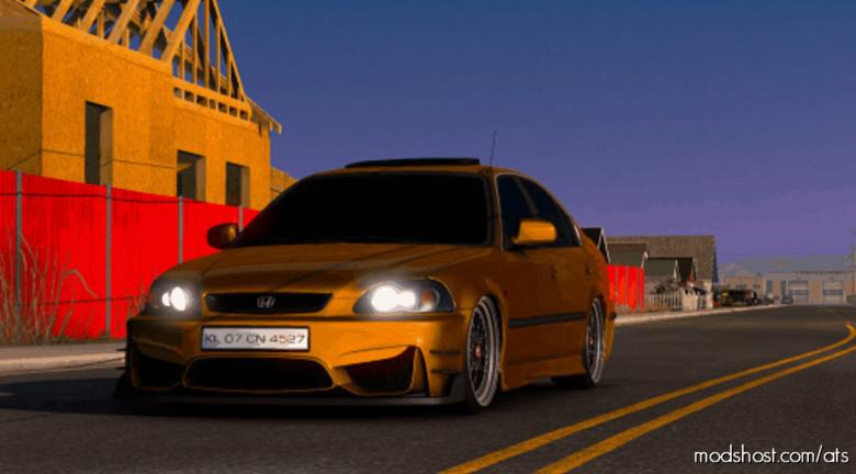 Honda Civic IES V7.0 [1.39] for American Truck Simulator