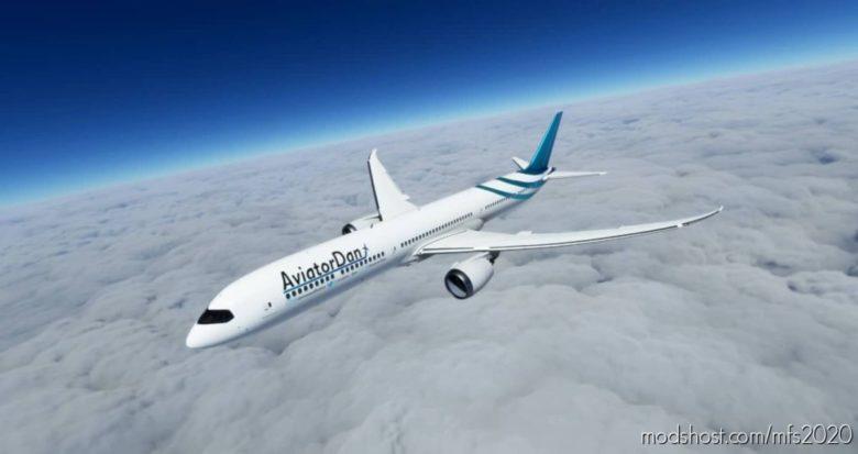 [8K] Aviatordan 787-10 Livery Pack V2.0 for Microsoft Flight Simulator 2020