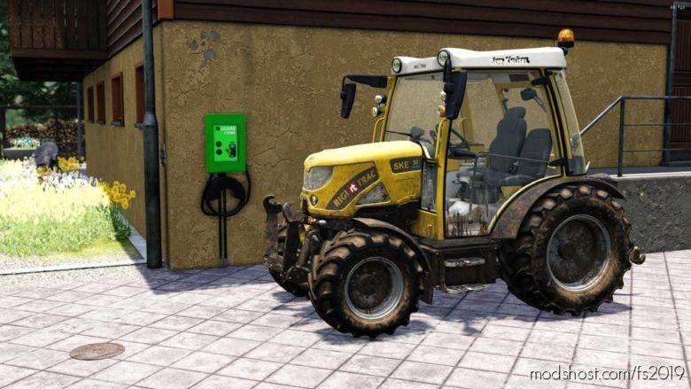 Lizard E Power Station V1.0.0.1 for Farming Simulator 19