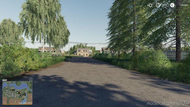 Burlaki Village V1.0.6.9 for Farming Simulator 19