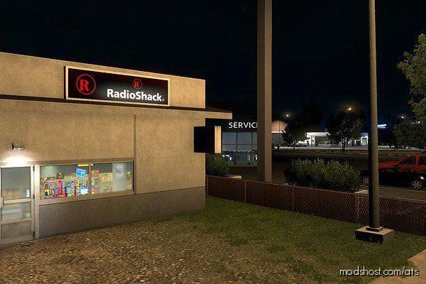 Realistic Corner Shop for American Truck Simulator