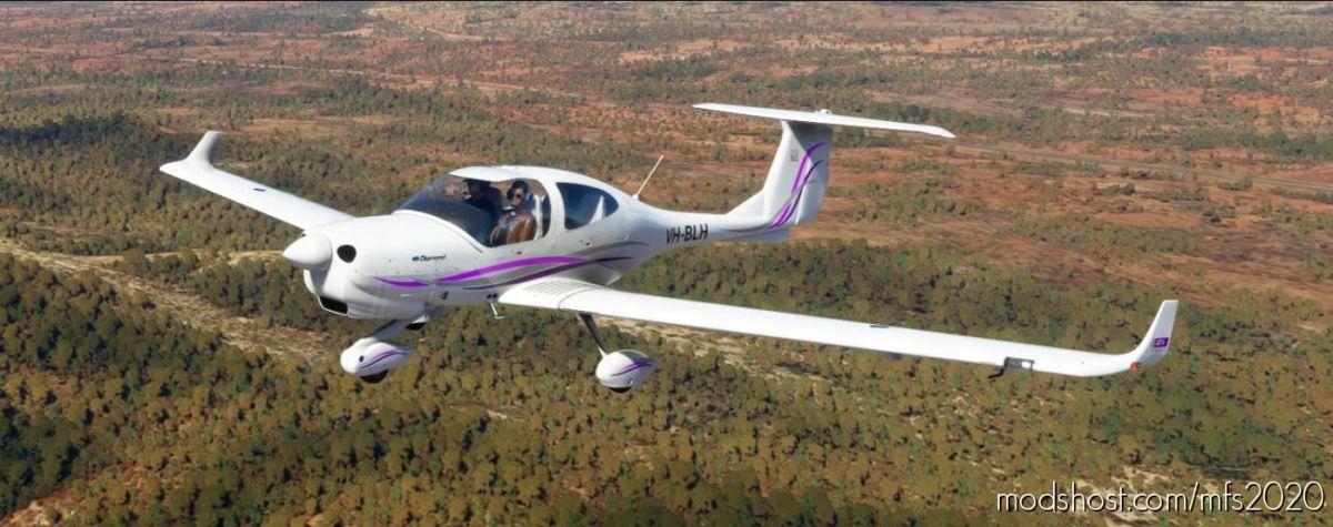 DA40 NG Repaints for Microsoft Flight Simulator 2020