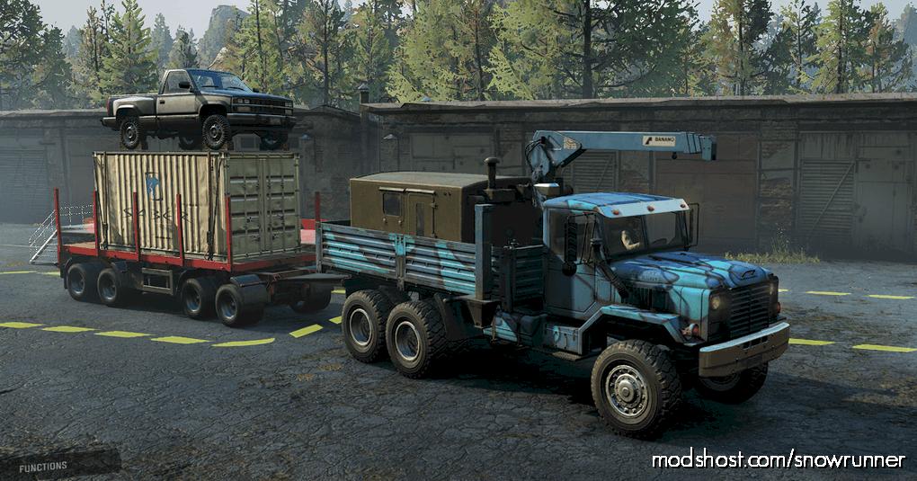 """M181 ANK MK38 """"Puma"""" V1.0.1 for SnowRunner"""