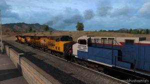 Short Trains Addon For Mod Improved Trains V3.6.4 for American Truck Simulator