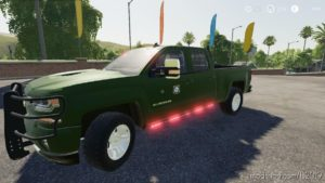 2016 Chevy Silverado Game Warden V5.0 for Farming Simulator 19