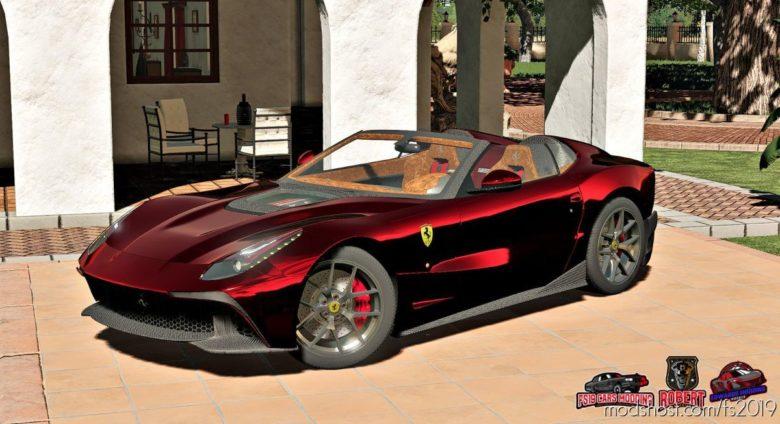 2014 Ferrari F12 TRS for Farming Simulator 19