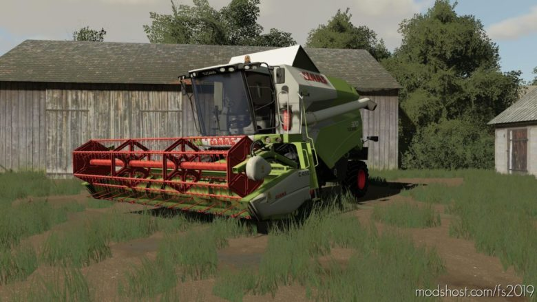 Claas Tucano 320 for Farming Simulator 19