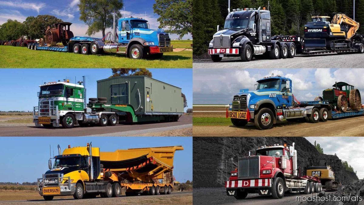 Loading Screen Oversize Load V1.3 for American Truck Simulator