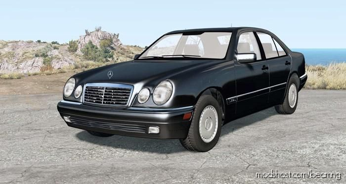 Mercedes-Benz E 420 Elegance (W210) 1997 for BeamNG.drive