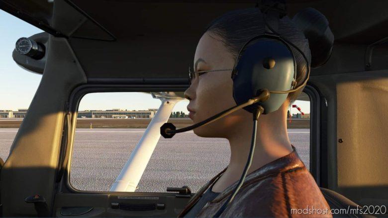 C152 Visibe Copilot for Microsoft Flight Simulator 2020
