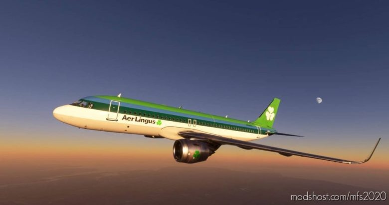 A320 AER Lingus 1974 for Microsoft Flight Simulator 2020