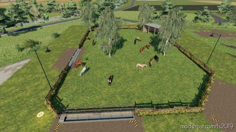 BIG Horse Stable for Farming Simulator 19