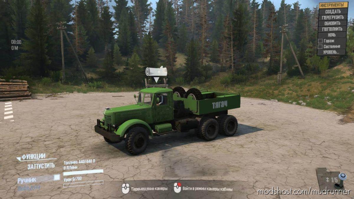 Yaaz-21G Truck for MudRunner