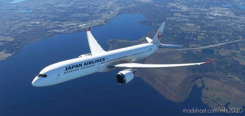 787-10 Japan Airlines for Microsoft Flight Simulator 2020