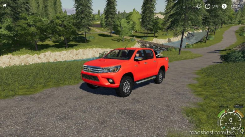 Toyota Hilux 2016 Adigemods for Farming Simulator 19