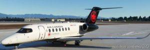 Citation Longitude AIR Canada Express for Microsoft Flight Simulator 2020