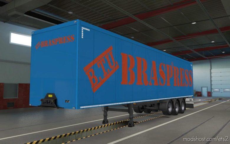Skin Braspress for Euro Truck Simulator 2
