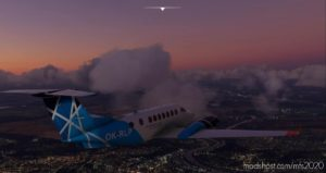 Beechcraft King AIR 350 Ok-Rlp AIR Navigation Services Of Czech Republic for Microsoft Flight Simulator 2020