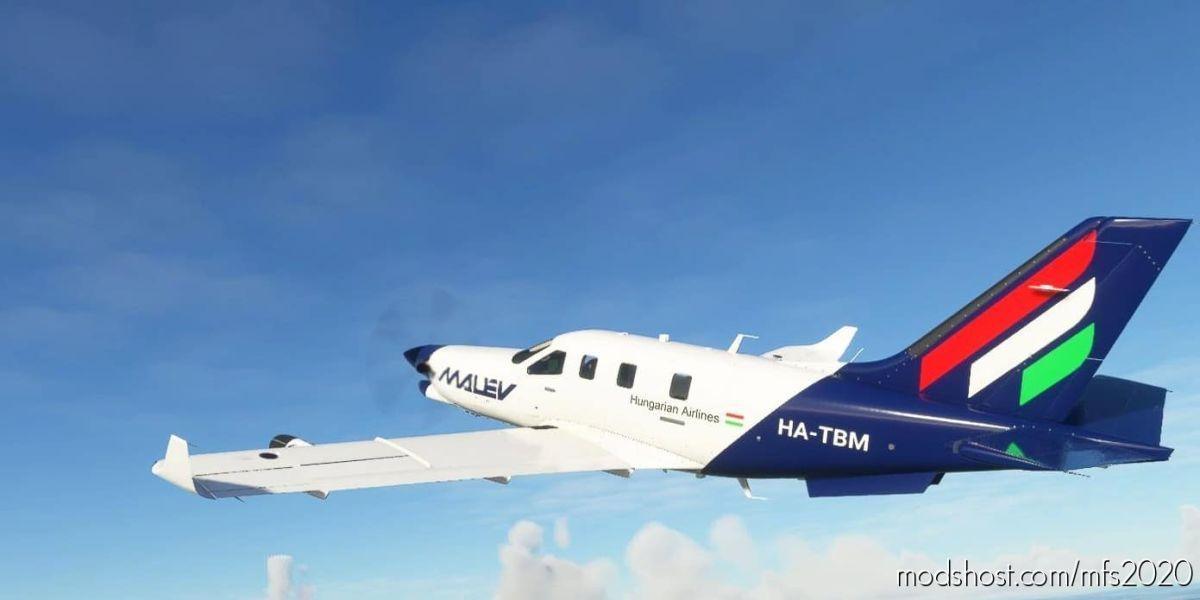 Malev Daher TBM930 for Microsoft Flight Simulator 2020