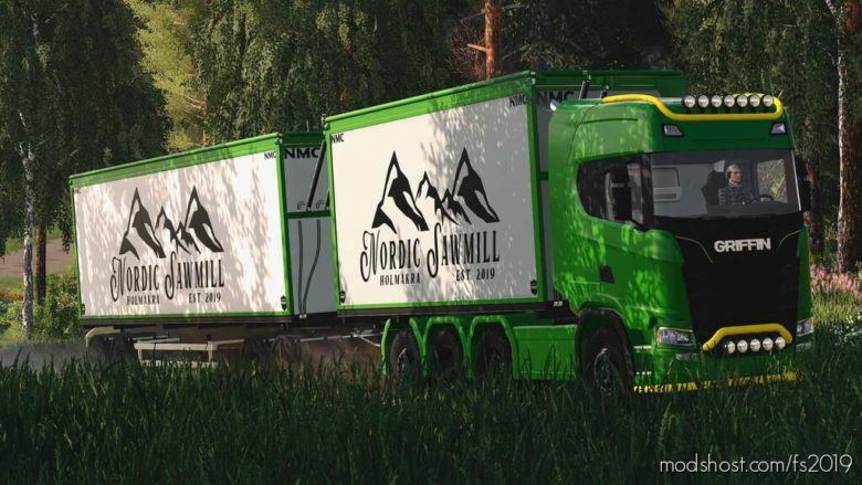 NMC Woodchip Transport Pack for Farming Simulator 19