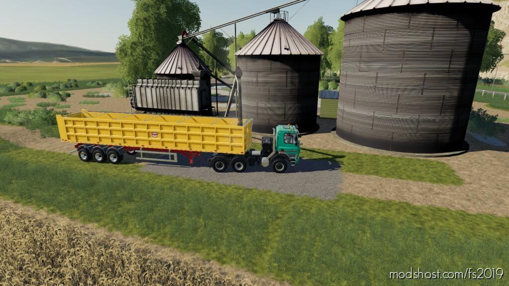 Lone OAK Silo V1.1 for Farming Simulator 19