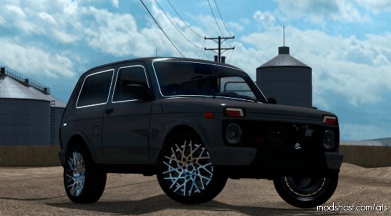 Lada Niva 2121 V5 [1.39] for American Truck Simulator
