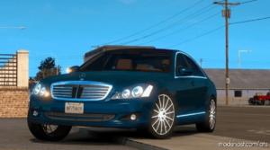 Mercedes-Benz S350 V4 [1.39] for American Truck Simulator