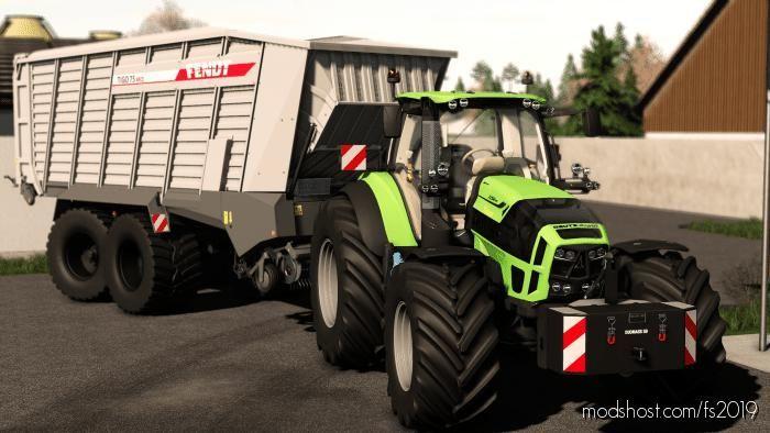 Fendt Tigo XR 75 D for Farming Simulator 19