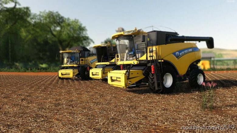 NEW Holland CR EVO Series for Farming Simulator 19