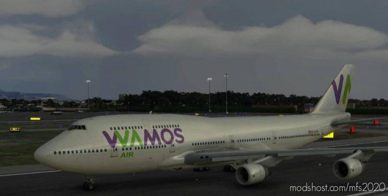 Wamos Boeing 747-400 (Canadian Mods) V0.1 for Microsoft Flight Simulator 2020