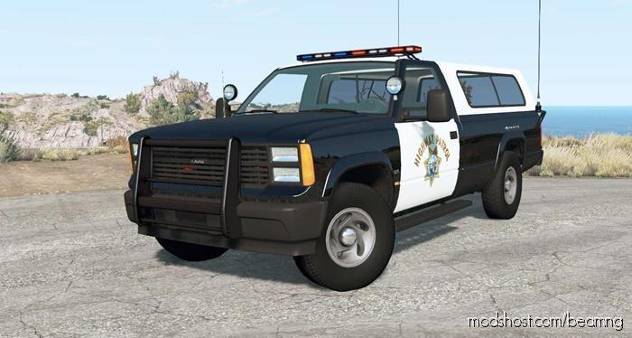Gavril D-Series California Highway Patrol V1.7 for BeamNG.drive