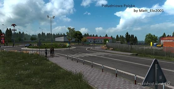 Southern Poland V1.2 for Euro Truck Simulator 2