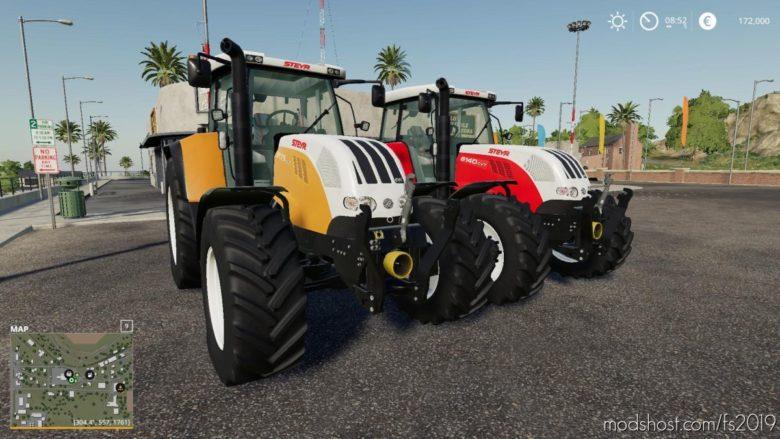 Steyr Cvt 6175 Smatic for Farming Simulator 19