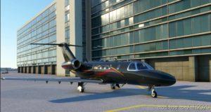 Citation CJ4 Dark Gray 4K for Microsoft Flight Simulator 2020