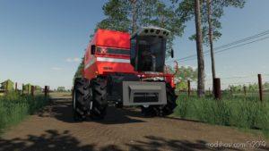 Massey Ferguson 5650 And Massey Ferguson Cutter for Farming Simulator 19