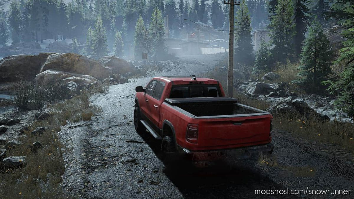 Dodge RAM 1500 (2019) V1.1.0 for SnowRunner