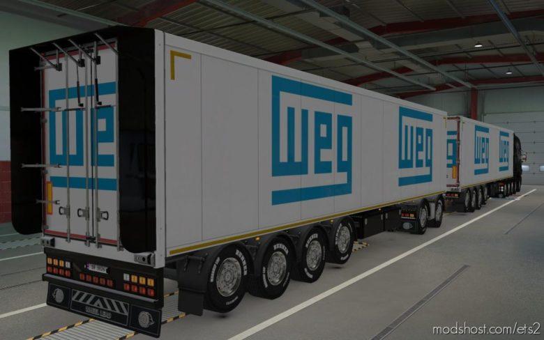 Skin Owned Trailers WEG [1.39] for Euro Truck Simulator 2
