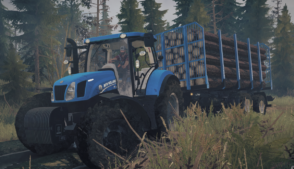 NEW Holland T6.175 BluePower (14.10.2020) 1.01 for MudRunner