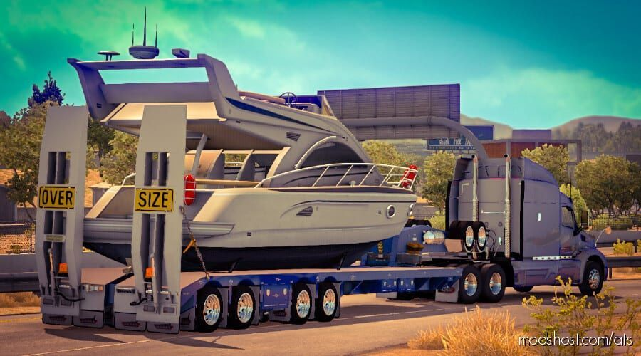 Platform C.A.M Drake Swingwing for American Truck Simulator