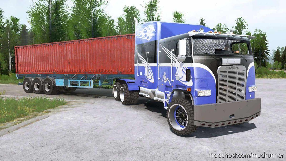 Freightliner FLA Truck for MudRunner