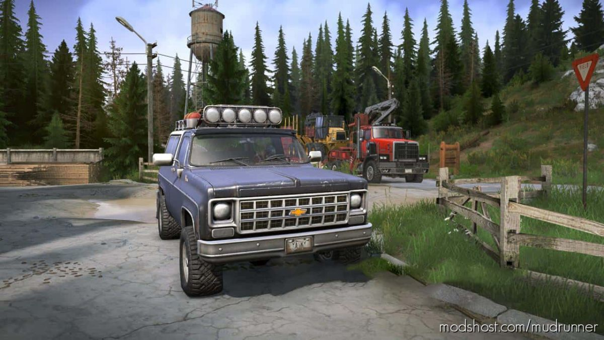 Realistic Graphics Adega Mod Pack Version 3.4 FIN + SP for MudRunner