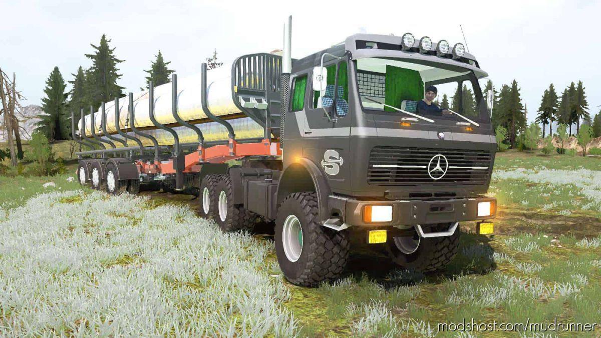 Mercedes-Benz NG 2632 (BR.395) 1974 Truck for MudRunner