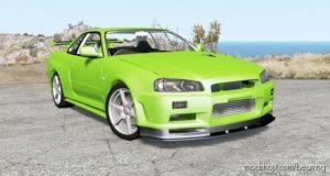 Nissan Skyline GT-R V-Spec II (BNR34) 2000 for BeamNG.drive