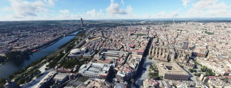 Seville, Spain for Microsoft Flight Simulator 2020